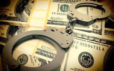 Financial fraud concept